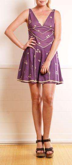 Marc Jacobs Purple Dress