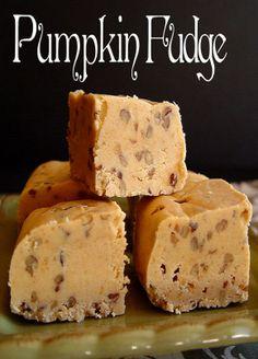 Pumpkin Fudge by Jamie
