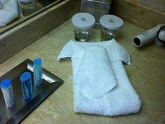 Towel Shirt and Tie