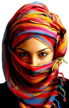 head wrap / scarf - Islamic / North African style