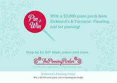 Pin this image at PinningParlor.com for a chance to win a weekly prize pack!