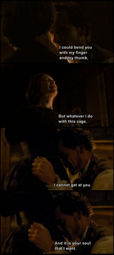 JANE EYRE--I LOVED this scene, purely because of Mia and Michael. Bravo to them both.