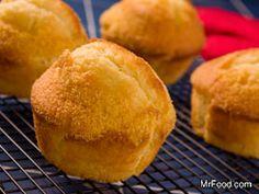 Old Time Corn Bread Muffins #SideDish #Recipe