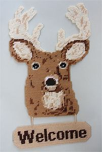 Free Plastic Canvas Christmas Patterns | welcome sign plastic canvas pattern ebay free plastic canvas patterns ...