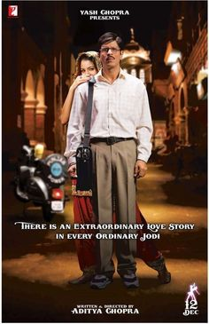Rab Ne Bana Di Jodi 2008: My favorite Bollywood film. Starting to become one of my favorite movies of all time.