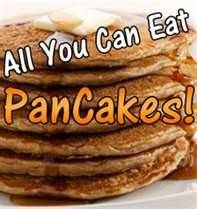 Hot Springs KOA - Have Breakfast with Us!  All you can eat pancakes served every morning from Memorial Day - Labor Day 7:30 - 9:30 a.m.  Side of bacon or sausage $1.25, Kids 12 & younger $1.99, and Adults $2.50.