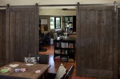 eeek, another variation of the sliding barn door!
