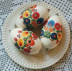 Polish design on goose eggs...