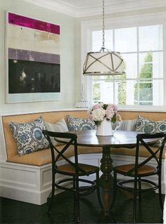 Great dining room bench