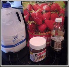 Easy Kid Smoothie Recipes: Strawberry  Nutella Smoothies | Madame Deals, Inc.