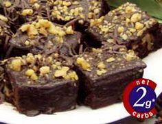 lo carb brownies