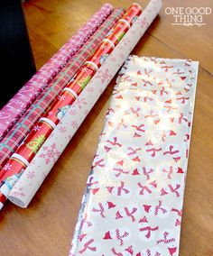 What To Do With Leftover Wrapping Paper | One Good Thing by Jillee