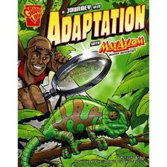 A Journey into Adaptation with Max Axiom, Super Scientist (Graphic Science) (Graphic Library: Graphic Science)
