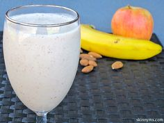 Almond Protein #Smoothie, yummy, yum!!