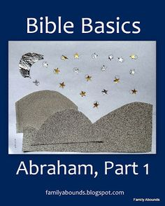 Abraham Toddler/Preschool Bible Lesson