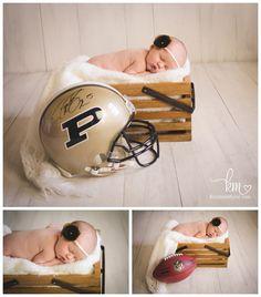 Purdue Newborn Picture