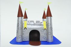 wikiHow to Build a Castle out of Cardboard Boxes -- via wikiHow.com