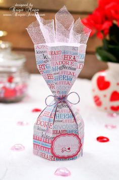 Sweet Treat Box Studio File, Carta Bella Paper, Trendy Twine