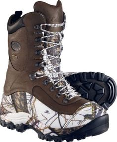 """"""" I love my Cabelas Whitetail extreme for hunting in Michigan so I hoped these would be in the same quality for ice fishing. I was right. My feet have not yet been cold or wet and I've never even had to use the toe warmer pockets."""" - customer review"""