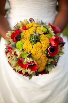 I DO NOT plan on marrying again... but if i did.,,.Wizard of Oz Bouquet by   Passion Growers