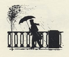 Pushkin Silhouettes 1949- great silhouette for crayon art