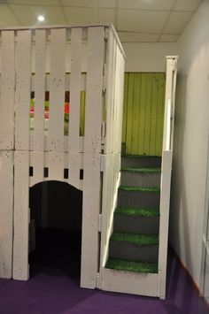 DIY : Pallet kid house