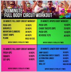 5k training exercises