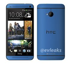 HTC One gets shown off in blue