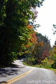 Road in the fall. ~~ http://jaykaysphotos.ca