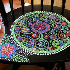Funky Painted Furniture | Painted furniture / Custom order Fun & Funky Handpainted furniture. $ ...
