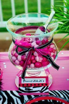Design Dazzle: Black, Pink and White Zebra Party!