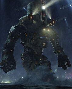 pacific rim cherno alpha destroyed  Cherno Alpha armor design.