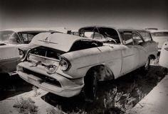 1957 Oldsmobile wagon print