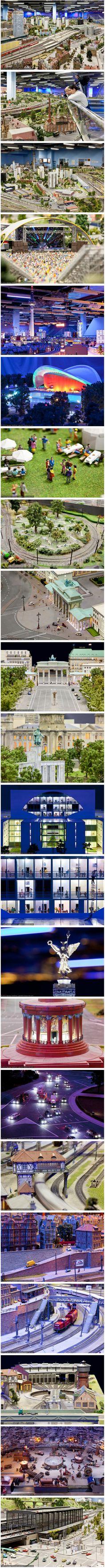 Worlds Largest Model Railroad Scenery, Loxx, Berlin, Germany