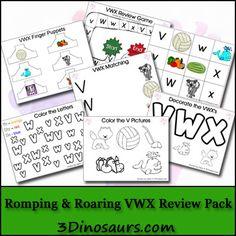 Free Romping & Roaring VWX Reveiw Pack - 3Dinosaurs.com