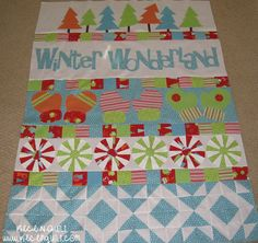 Riley Blake Designs -- Cutting Corners: Winter Wonderland Quilt
