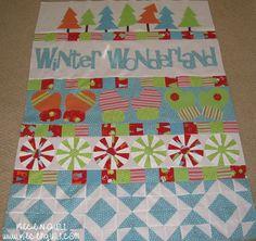 Riley Blake Designs -- Cutting Corners: Winter Wonderland Quilt
