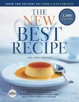 The new best recipe by the editors of Cook's Illustrated