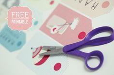 Tags and Stickers- Free Printables
