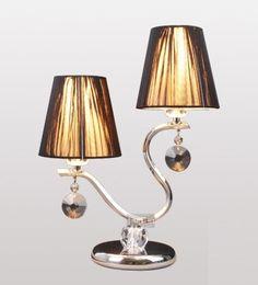 Couple fashion crystal desk lamp / beside lamp