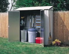 Ideas for the house on pinterest storage sheds outdoor for Narrow storage shed