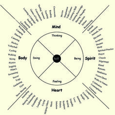 Different categorizations of wellness.