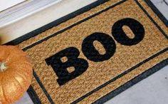 DIY Halloween : DIY Boo! Doormat Halloween