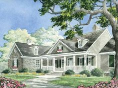 Practically perfect!Farmhouse House Plan with 3074 Square Feet and 3 Bedrooms from Dream Home Source | House Plan Code DHSW56097 dreams, dream homes, courts, hous plan, floor plans, carrington court, farmhous hous, eplan farmhous, house plans
