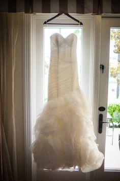 Fluffy wedding dress: http://www.stylemepretty.com/california-weddings/2014/06/05/san-juan-capistrano-wedding-at-serra-plaza/ | Photography: Christopher Todd - http://christophertoddstudios.com/