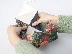 Make Super Easy Origami Boxes with this easy tutorial by Creative Bug