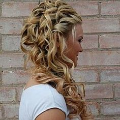 #gorgeous #curly #hair #hairstyle #dream #wedding #updo #follow #me #please? #thanks
