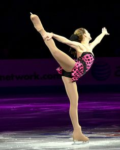 Another one to watch. This year Gracie Gold took the gold in the juniors. Maybe later the seniors, and perhaps Gold for Gold in an upcoming olympics. You never know!