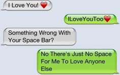 Love+Quotes+for+Him+-+Sweet+Text+Messages http://sweettextmessagesforhim.blogspot.com Awww, Funny Texts, Texts Messages, Funny Stuff, Adorable, Things, Sweets Texts, Inspiration Quotes, Love Quotes
