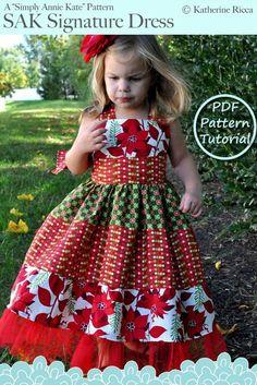 Sizes 6 7 8 9 10 PDF Pattern Tutorial ...Simply Annie Kate